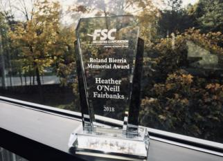 Congratulations Heather!